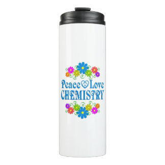Peace Love Chemistry Thermal Tumbler