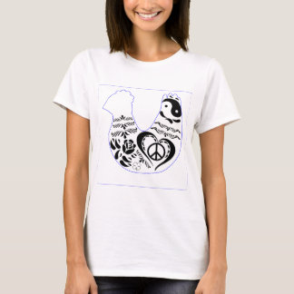 Peace Love Chicken T-Shirt