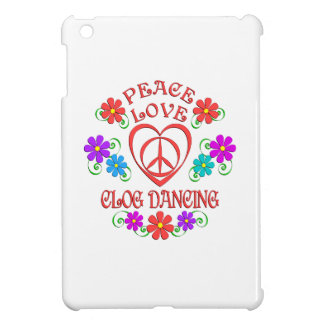 Peace Love Clog Dancing Case For The iPad Mini