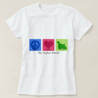 Peace Love Cocker Spaniel T-Shirt
