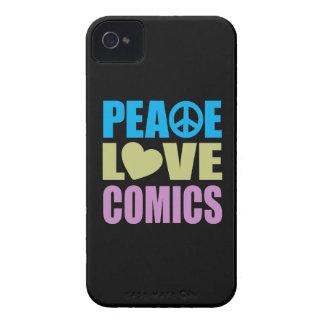 Peace Love Comics iPhone 4 Case