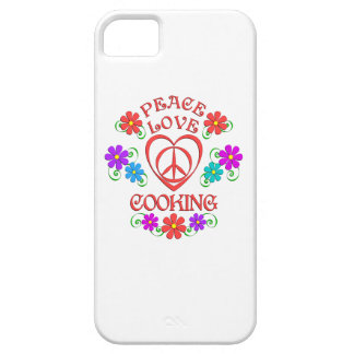 Peace Love Cooking Case For The iPhone 5