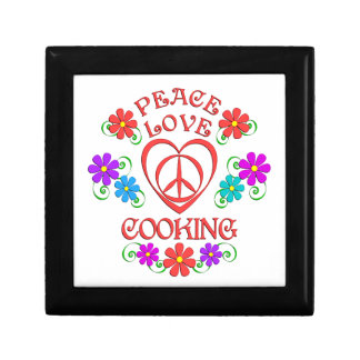 Peace Love Cooking Gift Box
