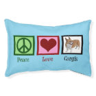 Peace Love Corgis Pet Bed