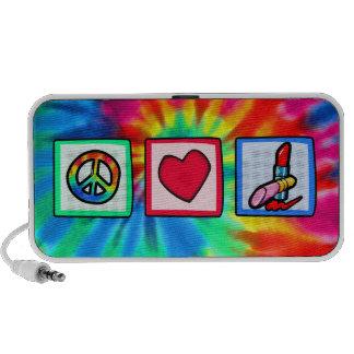 Peace, Love, Cosmetics Speakers