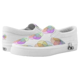 Peace Love Create Slip-On Sneakers