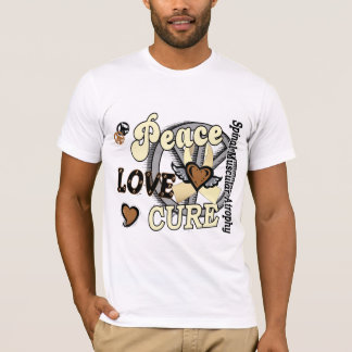 Peace Love Cure 2 SMA Spinal Muscular Atrophy T-Shirt