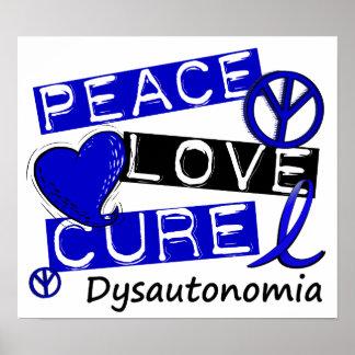 Peace Love Cure Dysautonomia Poster