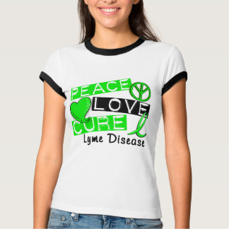 Peace Love Cure Lyme Disease T-Shirt