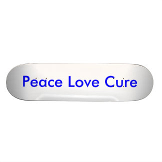 Peace Love Cure Skate Board Decks
