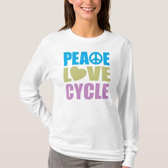 Peace Love Cycle T-Shirt