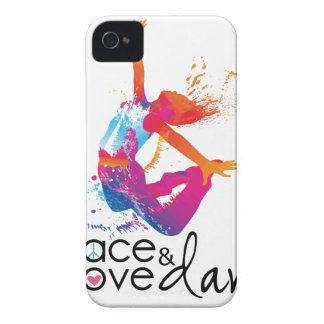 Peace & love Dance iPhone 4 Covers