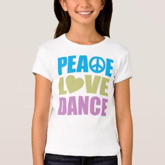 Peace Love Dance Shirt