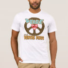 Peace Love Dental Floss Vintage T-Shirt