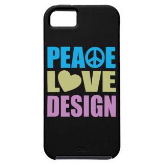 Peace Love Design iPhone 5 Case