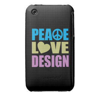 Peace Love Design iPhone 3 Cases