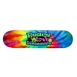 Peace, Love, Dinosaurs Skate Board Deck