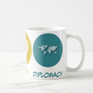 Peace Love Diplomacy Coffee Mug