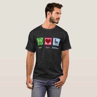 Peace Love Dobermans T-Shirt