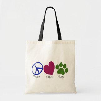 Peace Love Dogs Bag