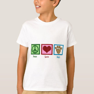 Peace Love Dogs T-Shirt