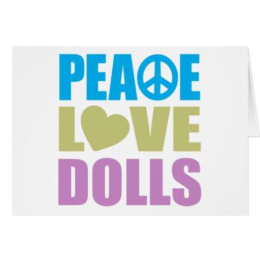 Peace Love Dolls Cards