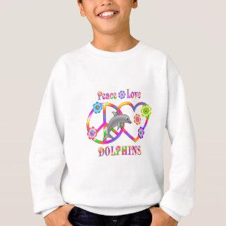 Peace Love Dolphins Sweatshirt