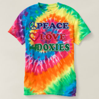 Peace Love Doxies T-shirt