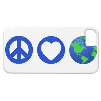 Peace Love Earth iPhone 5 Cover