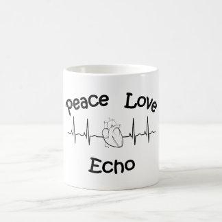 Peace Love Echo Coffee Mug