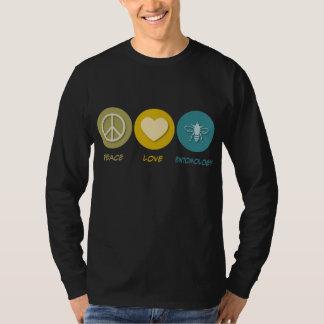 Peace Love Entomology T-Shirt