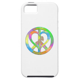 Peace Love Ferrets iPhone 5 Case