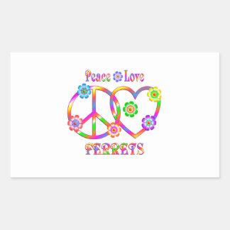 Peace Love Ferrets Sticker