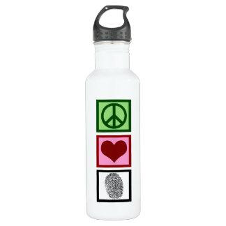 Peace Love Forensics 710 Ml Water Bottle