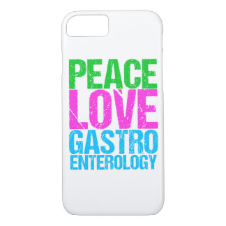 Peace Love Gastroenterology Case-Mate iPhone Case