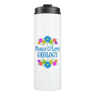 Peace Love Geology Thermal Tumbler