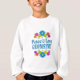 Peace Love Geometry Sweatshirt