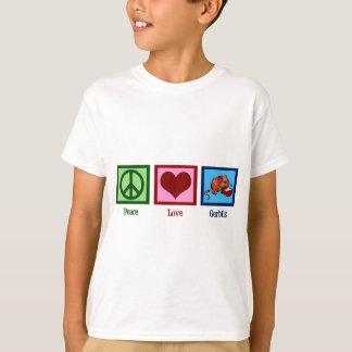Peace Love Gerbils Tee Shirt