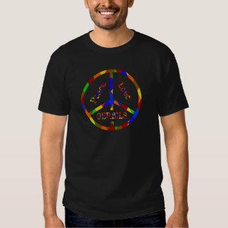 Peace Love Gerbils Tshirts