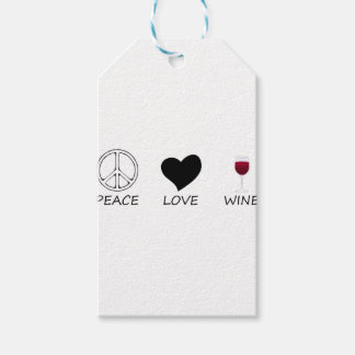 peace love gift tags