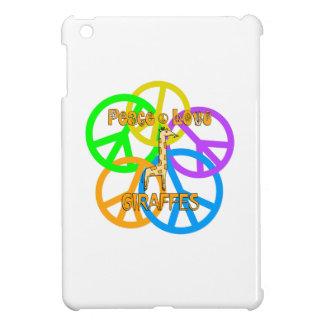 Peace Love Giraffes Cover For The iPad Mini