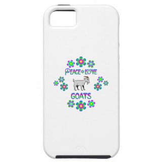 Peace Love Goats Case For The iPhone 5