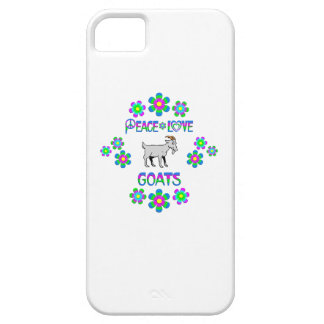 Peace Love Goats iPhone 5 Covers