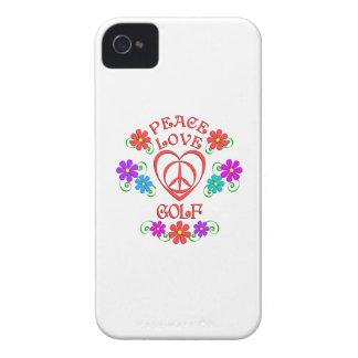 Peace Love Golf iPhone 4 Case