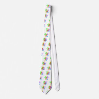 Peace Love Golf Tie