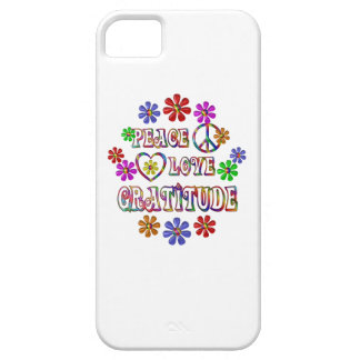 Peace Love Gratitude iPhone 5 Case