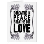 Peace & Love Greeting Cards