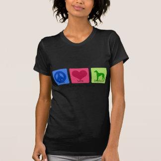 Peace Love Greyhound T-Shirt