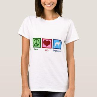 Peace Love Greyhounds Women's T-Shirt