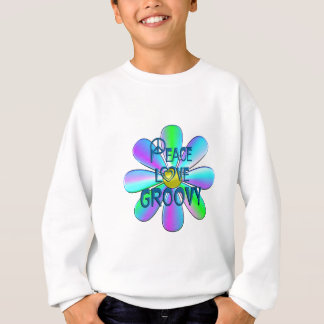 Peace Love Groovy Sweatshirt
